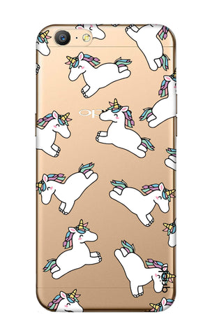 Jumping Unicorns Oppo A57 Cases & Covers Online