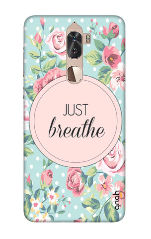 Vintage Just Breathe Coolpad Cool 1 Cases & Covers Online