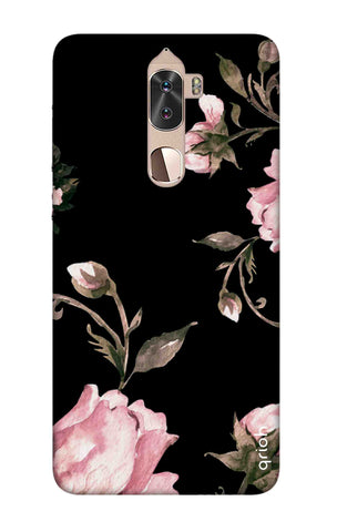 Pink Roses On Black Coolpad Cool 1 Cases & Covers Online