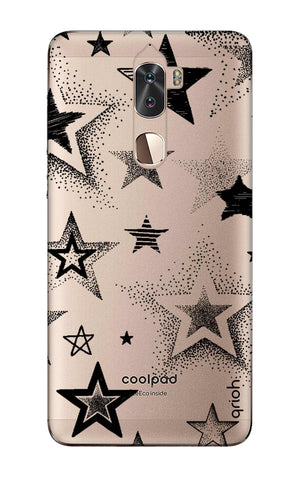 Black Stars Coolpad Cool 1 Cases & Covers Online