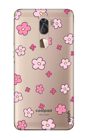 Pink Flowers All Over Coolpad Cool 1 Cases & Covers Online