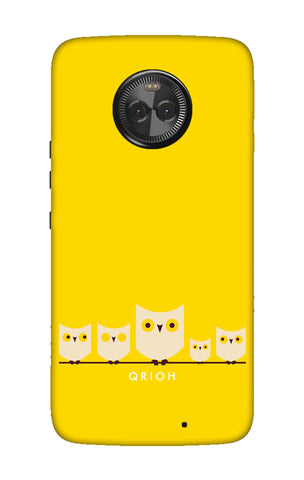Owl Family Motorola Moto X4 Cases & Covers Online