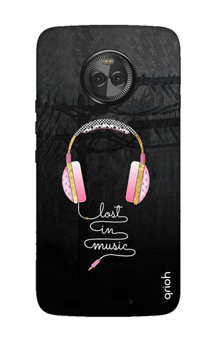 Lost In Music Motorola Moto X4 Cases & Covers Online