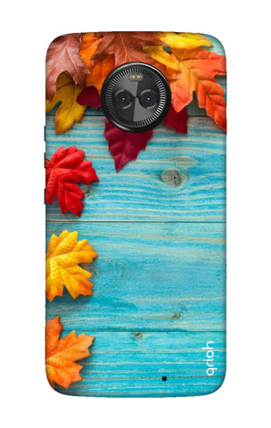 Fall Into Autumn Motorola Moto X4 Cases & Covers Online