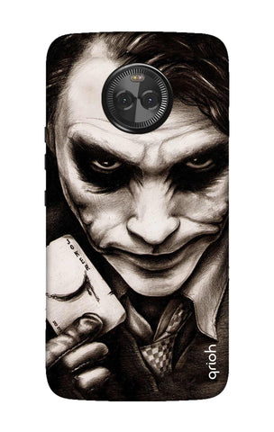 Why So Serious Motorola Moto X4 Cases & Covers Online