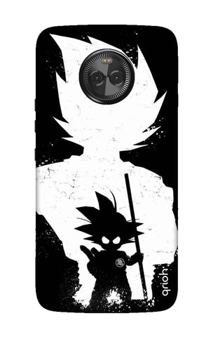 Goku Unleashed Motorola Moto X4 Cases & Covers Online
