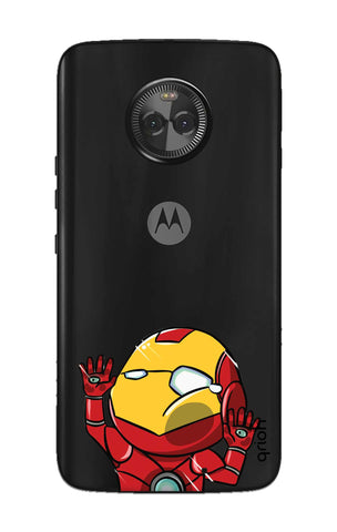 Iron Man Wall Bump Motorola Moto X4 Cases & Covers Online