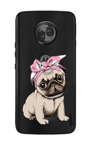 Pink Puggy Motorola Moto X4 Cases & Covers Online