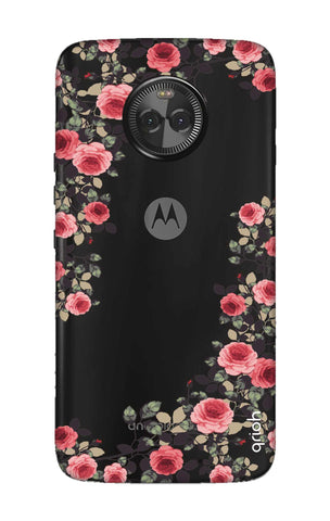 Floral French Motorola Moto X4 Cases & Covers Online