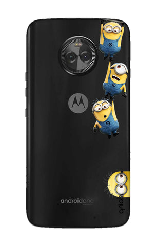 Falling Minions Motorola Moto X4 Cases & Covers Online