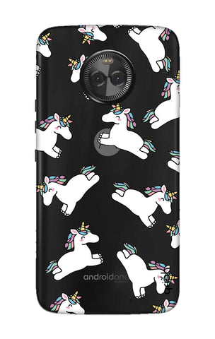 Jumping Unicorns Motorola Moto X4 Cases & Covers Online