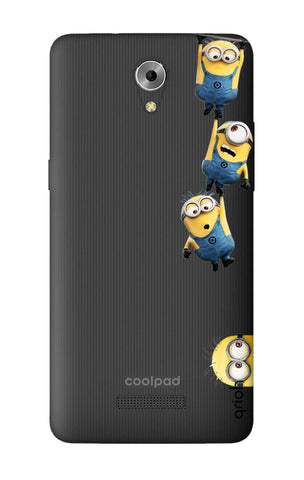 Falling Minions Coolpad Mega 3 Cases & Covers Online