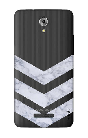 Marble Chevron Coolpad Mega 3 Cases & Covers Online