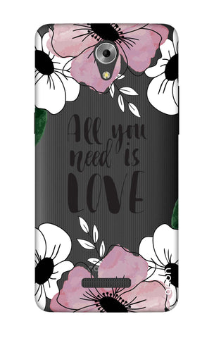 All You Need is Love Coolpad Mega 3 Cases & Covers Online
