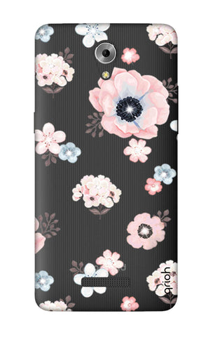 Beautiful White Floral Coolpad Mega 3 Cases & Covers Online