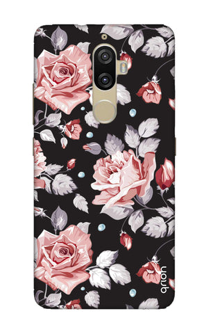 Shabby Chic Floral Lenovo K8 Plus Cases & Covers Online