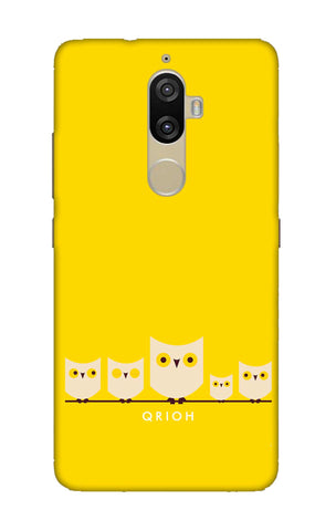 Owl Family Lenovo K8 Plus Cases & Covers Online