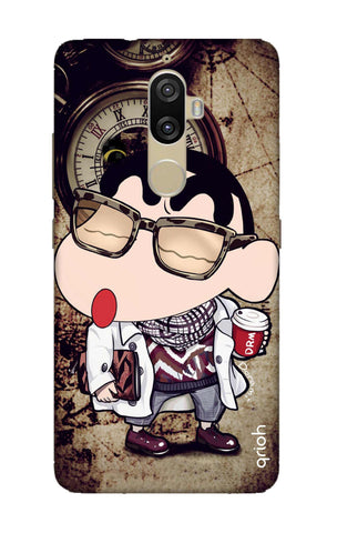 Nerdy Shinchan Lenovo K8 Plus Cases & Covers Online