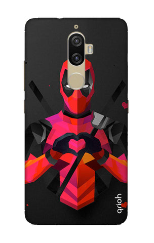 Valentine Deadpool Lenovo K8 Plus Cases & Covers Online