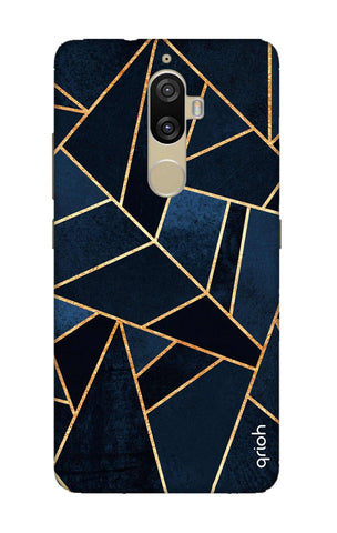 Abstract Navy Lenovo K8 Plus Cases & Covers Online