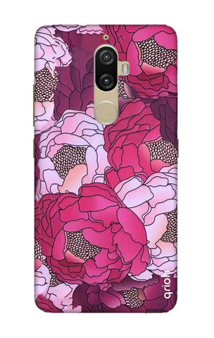 Vector Floral Lenovo K8 Plus Cases & Covers Online