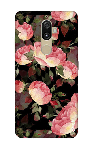 Watercolor Roses Lenovo K8 Plus Cases & Covers Online