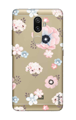 Beautiful White Floral Lenovo K8 Plus Cases & Covers Online