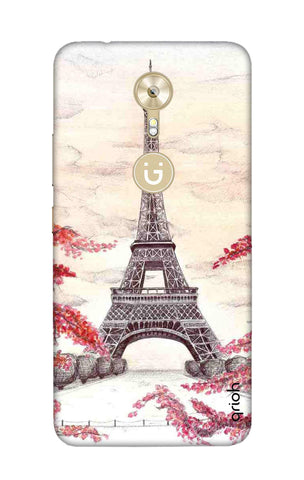 Eiffel Art Gionee A1 Cases & Covers Online