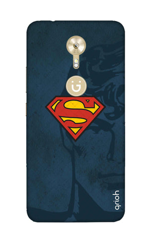 Wild Blue Superman Gionee A1 Cases & Covers Online