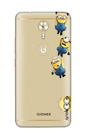 Falling Minions Gionee A1 Cases & Covers Online