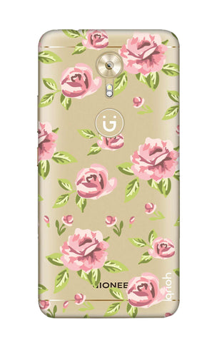 Elizabeth Era Floral Gionee A1 Cases & Covers Online