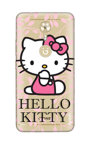 Hello Kitty Floral Gionee A1 Cases & Covers Online