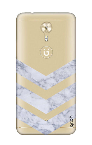 Marble Chevron Gionee A1 Cases & Covers Online