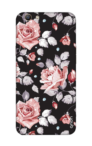 Shabby Chic Floral Oppo F1S Cases & Covers Online