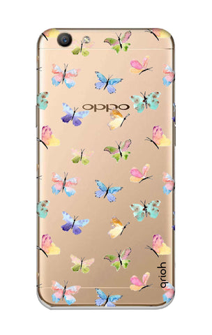 Painted Butterflies Oppo F1S Cases & Covers Online