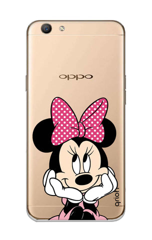 Minnie In Deep Thinking Oppo F1S Cases & Covers Online