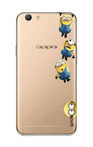 Falling Minions Oppo F1S Cases & Covers Online