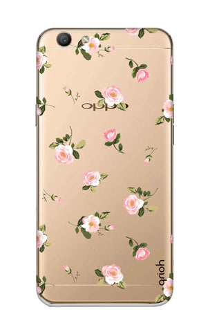 Pink Rose All Over Oppo F1S Cases & Covers Online