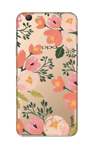 Painted Flora Oppo F1S Cases & Covers Online