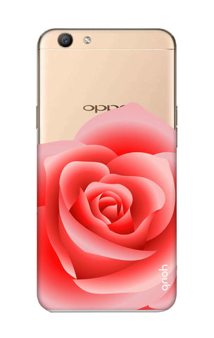 Peach Rose Oppo F1S Cases & Covers Online