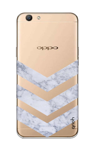 Marble Chevron Oppo F1S Cases & Covers Online