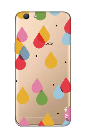 Colourful Drops Oppo F1S Cases & Covers Online