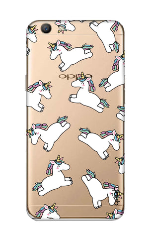 Jumping Unicorns Oppo F1S Cases & Covers Online