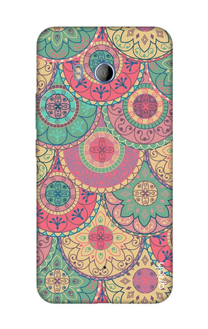 Colorful Mandala HTC U11 Cases & Covers Online