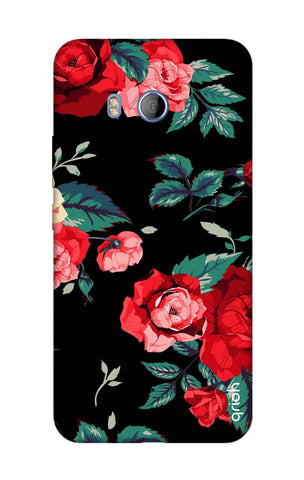 Wild Flowers HTC U11 Cases & Covers Online