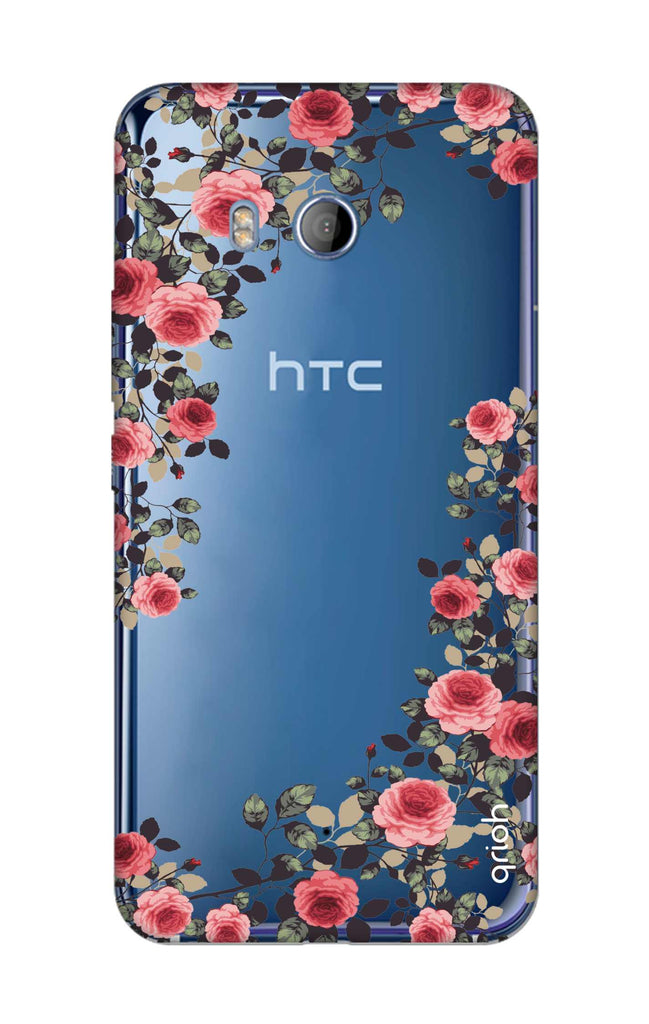 super popular a1823 94445 Floral French Case for HTC U11