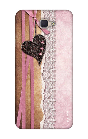 Heart in Pink Lace Samsung ON NXT Cases & Covers Online