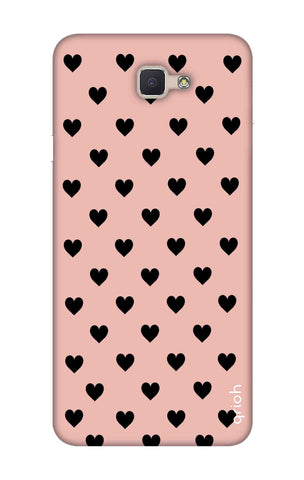 Black Hearts On Pink Samsung ON NXT Cases & Covers Online
