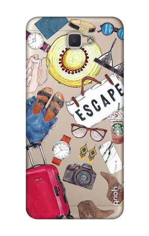 Travel Doodle Samsung ON NXT Cases & Covers Online