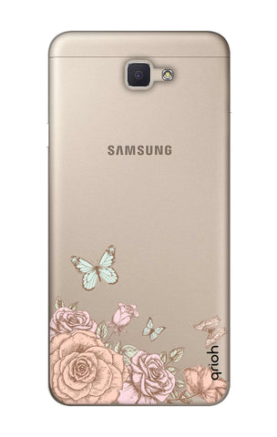 Flower And Butterfly Samsung ON NXT Cases & Covers Online